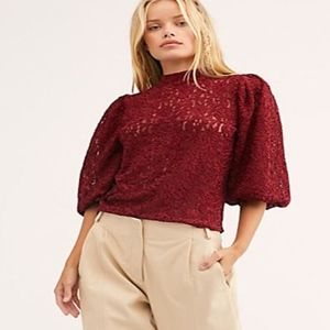 "FREE PEOPLE ""Sweet Talker Top"" NWT"